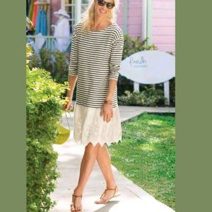 Soft Surroundings Left Bank Tunic Dress